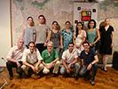 Participantes da primeira reunião do Adus aberta ao público